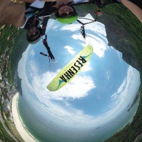 Voo Livre no Rio - Foto 360º #theta360