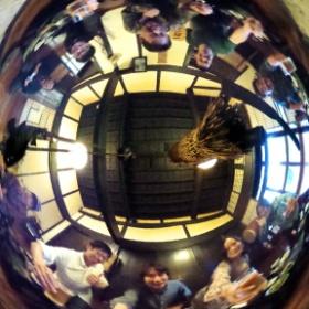 コミュニティーサークル 「第1回カメラ講習会in長野」1泊2日  ~講師:西村春彦と愉快な仲間たち♪(笑)~  参加者:8名(うち講師1名、モデル2名) 宿泊:長野・信州の隠れ宿 まほろば 夕食、直会で乾杯~!! 360°全天球でクルクル~(笑) #theta360