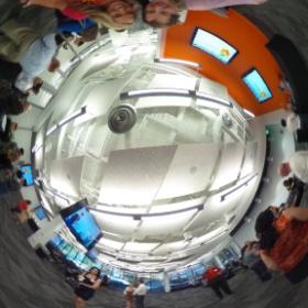 Hanging out at #digatl w/ @kristenhrachels #theta360