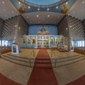St Mary's Orthodox Church in Minneapolis MN #theta360