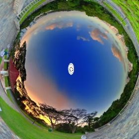 Telok Blangah Hill Park -- www.ansonchew.com #ansonchew #anson360 #TelokBlangah #singapore #park #sunset #Telok BlangahHillPark  #theta360