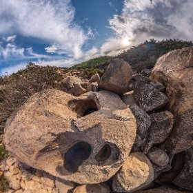 Los Baños del Inca, Valle del Encanto, Ovalle. IV Región de Chile.