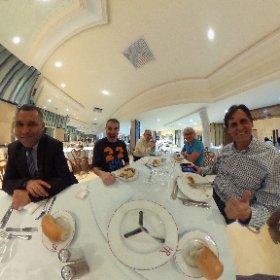 Cena con amigos en el Hotel Le Royal Hammamet @bluebayhotels #BBTripTunez #tunez #hammamet #theta360
