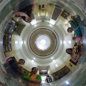 In the Foyer of @AkashvaniAIR #theta360