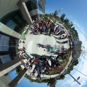 Google Code-in group spherical photo @googleoss #theta360