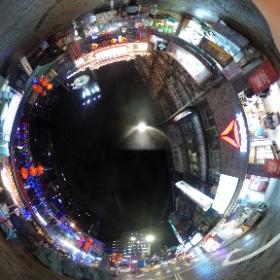 夜市 #まるちゃん台湾旅行 #theta360