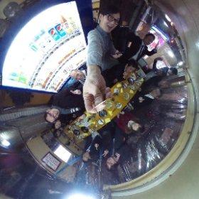 HCDサロン関西。原田悦子先生と才人たちのコラボレーション! #theta360