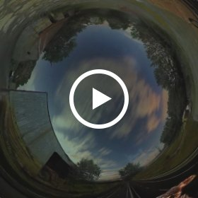 connecting with a lizard | collage | animation | Galway | div media | farming | motorway |  #theta360