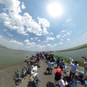 天気が良いな〜! #IWK #theta360