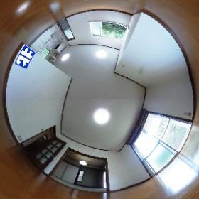 鹿児島市牟礼岡3丁目【売家】木造2階建4LDK改装済750万円 #theta360