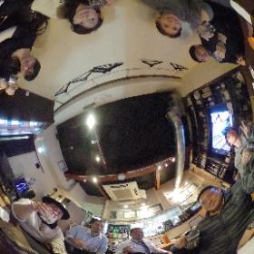 なんだかんだで2次会は三鷹の美味しい居酒屋ことGACHAGACHAはなれ。 #キズナバー oregadget.net/food/27462/ #theta360