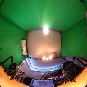 ALFA第1スタジオ(ラジオ/映像配信/HTCVIVE OculusRift体験) #theta360