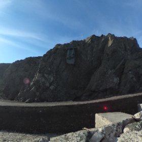 near the cliffs at Port Patrick in Scotland. #theta360 #theta360uk