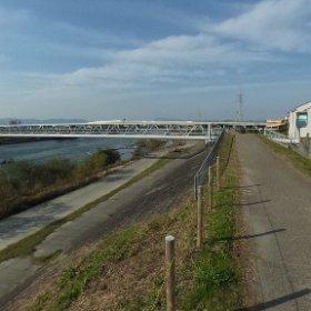 例の水道橋 #theta360