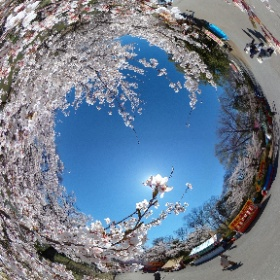 上田城跡公園2 #theta360