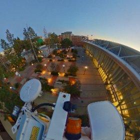 360 image of UCLA Pauley Pavilion, site of Team USA Media Summit tonight. @NBCLA  #theta360