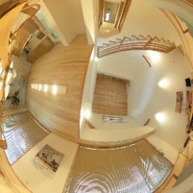 富山市開の展示場の様子。富山県内で家づくりをさせていただいてます、鷹栖建工(タカノスケンコウ)です!よろしくお願いします。HPも見てみてニャ🐈 https://www.takanosukk.com #theta360