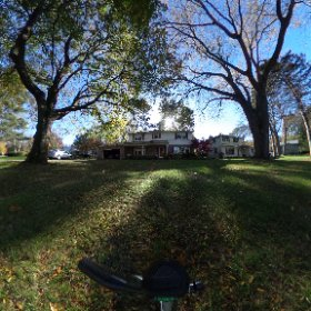 Trying out my new 360 camera. Home, sweet home.