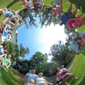 Lakehouse 2016 - Family Portrait #lakehouse #lakegaston #family #theta360