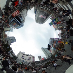 渋谷に来たので #theta360