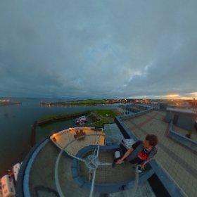 On top of the World in Galway #theta360