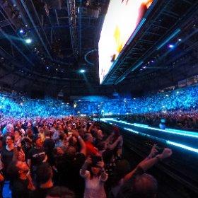 U2 Pride (In The Name Of Love) Belfast 28/10 360 shot #U2eiTour