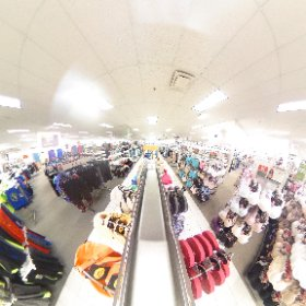 This is what the inside of Kohl's looks like. #theta360