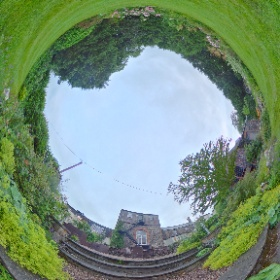 the Secret Garden #rain3d  #theta360 #theta360uk