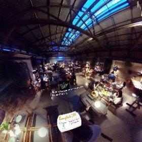 Never Ending Summary restaurant at The Jam Factory on Chao Phraya river Klong San Bangkok, SM hub https://goo.gl/HZhsXA BEST HASHTAGS #NeverEndingSummerBkk   #BkkDining  #ChaoPhrayaRiverSpot   #CPRPierKlongSan  #butterfly3d