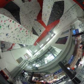 360 kuva kiipeilykeskuksesta