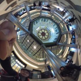 東京駅南口2 リコー シータで。   #theta360