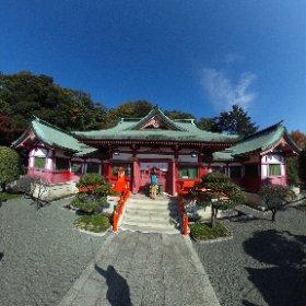 織姫神社 #theta360