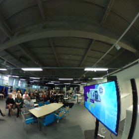 #FinEduVr presentation on stage. Experience it in prezi. bit.ly/fineduvr  #iskulearning @Estonia100org #theta360