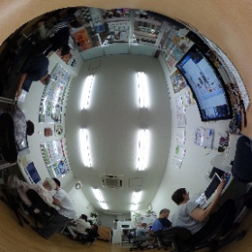 「THETA S」で撮影したキュリオステーション天六校の授業風景です。#キュリオステーション天六校 #パソコンスクール #パソコン試験会場 # 大阪市北区 #ctenroku #theta360