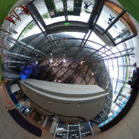 The Blue Parrot Company grass archway and carpet for Andy Murray Live at Glasgow SECC Clyde auditorium before the main show at SSE Hydro   #BlueParrot #AndyMurrayLive  #theta360 #theta360uk