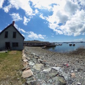 Little Cranberry Island. #theta360