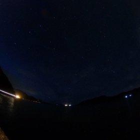 家の前から見える星。60秒解放。ISO400。 #奄美お試し移住 #課長奄美 #theta360