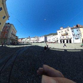La Piazza Grande à Locarno / TI