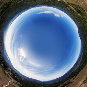アヤメ平上空からの空撮映像です。