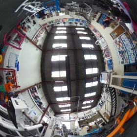 Lower training area #theta360