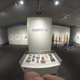 Take a look around the first room of the Augmented exhibition at the Museum of Arts and Sciences!