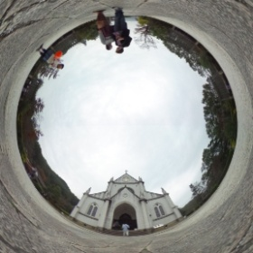 St. Francis Xavier's Cathedral formerly at Kawaramachi/Sanjo Kyoto, but now at Meiji Mura. #theta360 @TokyoDex