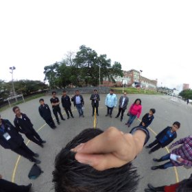 Proyecto Rutas Duitama, equipo de trabajo #theta360