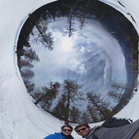 Vallorcine Schneeschuhwandern