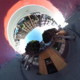 tuesday morning in SoMa. #theta360