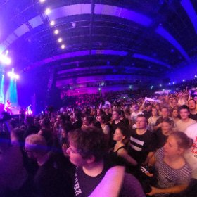 Kraftklub In Emsland Arena Lingen #theta360 #theta360de