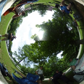 Solar Observing at the Patoka Lake Nature Center. #theta360