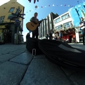 High Hopes | Busking in Galway | Eoin Heffernan | #galway360 #thecraic #theta360