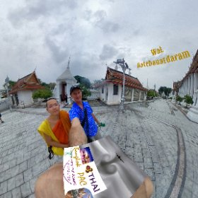 Wat Ratchanatdaram is an historical temple with a unique Metal Castle, in tour zone Rattanakosin Old city Bangkok, SM hub http://goo.gl/cc2l86 BEST HASHTAGS #WatRatchanatdaram  #BkkTemple    #ZoneRattanakosin  #BkkAchiever #butterfly3d