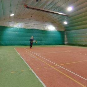 tenisová hala na stadionu v Bechyni